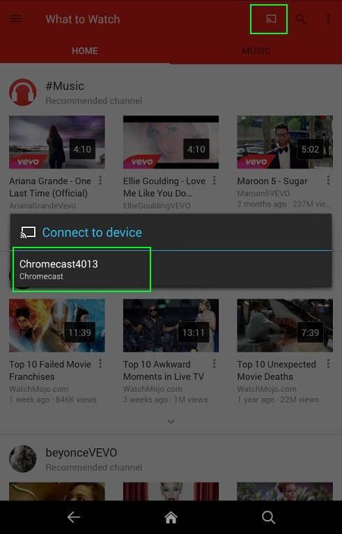How To Use Chromecast On Amazon Fire Tablets Fire Hd