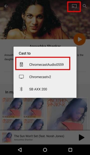 how to play vlc file through chromecast