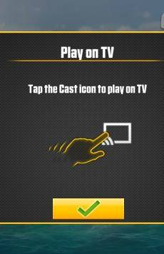 play games on Chromecast from mobile devices