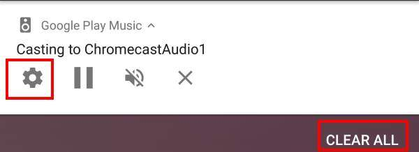 What is the Google Home and Chromecast casting notification?