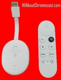 Chromecast 4th Gen (Chromecast with Google TV)